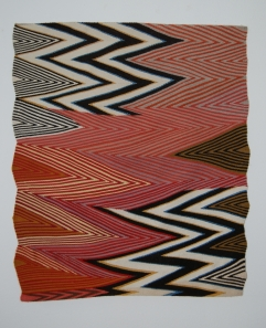 Deborah Corsini: Disconnect, 2013, wool, wedge weave